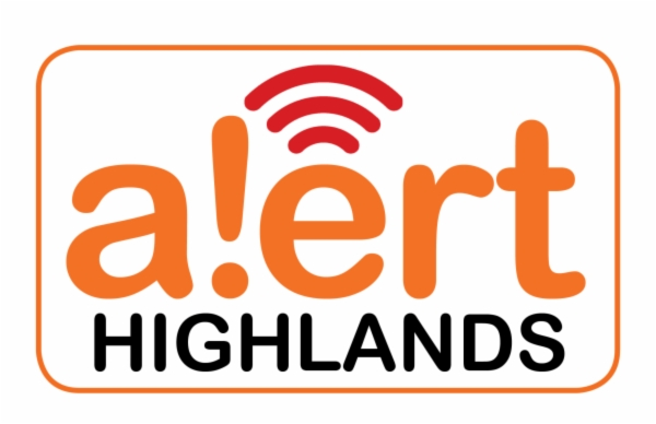 Alert Highlands logo